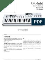 Manual waldorf blofeld