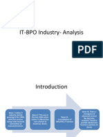 Indian IT BPO Industry Analysis