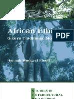 Hannah Wangeci Kinoti - African Ethics Gikuyu Traditional Morality