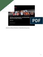 ePO4 Essentials