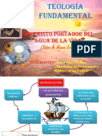 JESUCRISTO PORTADOR DEL AGUA DE LA VIDA