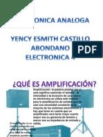 Trabajo Electronica Analoga