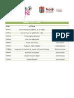 Programa Fiestas de Octubre 2012