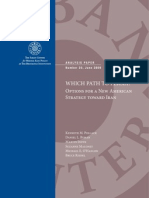 """Brookings Institution's """"Which Path to Persia?"""" Report"""