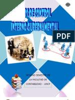 Tipos de Control Interno Gubernamental