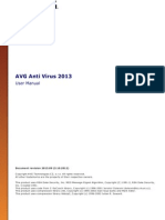 AVG FREE AntiVirus 2013 User Manual