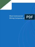 REPRISK, Las empresas mineras más controversiales del 2011 (Eng)