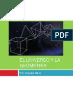El universo y la geometría-Claudia Meza