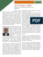 Manejo Del Tiempo en IEEE