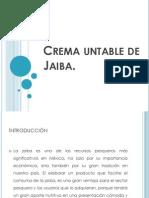 Crema Untable de Jaiba