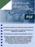 ESTRATEGIA Y TÁCTICA DE MEDIOS