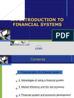 Lec 1- An Introduction to Financial Systems