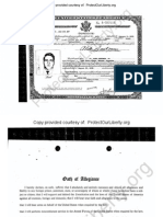 100% Proof Rick Santorum Born a Dual Citizen - Not a Natural Born Citizen.  Father still an Italian citizen in 1958 and only perfected naturalization 3 yrs after Rick was born. FOIA Response Re Aldo Santorum