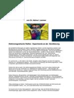 Elektromagnetische Waffen - Experimente an Der Bevolkerung