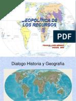 GEOPOLÍTICA RECURSOS 2010