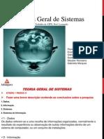 Apresentação Teoria Geral de Sistemas