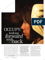 Occupy Wall Street's one-year anniversary