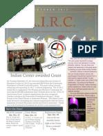 AIRC Oct. 2012 Newsletter
