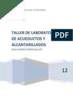 Taller de Laboratorio de Acueductos y Alcantarillados