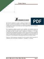 Trabajo de Circulacion de Derecho Mercantil