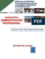 Clase 1 - Administracion Profesional
