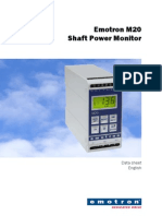 Emotron m20 Data Sheet 01-4134-01 En