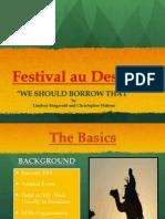 Fest au Des PPT