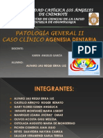 Agenesia Dental -Patologia General
