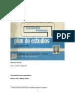 Plan de Estudios y Programas 1972