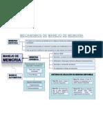 Mapa Conceptual-Manejo de Memoria ISPL ISC