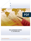 DAILY COMMODITY REPORT BY EPIC RESEARCH- 4 OCTOBER 2012