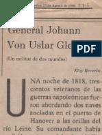 General Johann Von Uslar Gleichen Un Militar de Dos Mundos