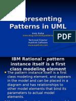 Representing Patterns in Uml Andy Bulka Oct 2006