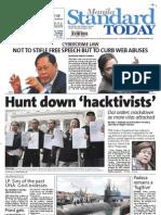 Manila Standard Today -- Thursday (October 04, 2012) issue
