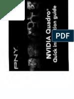 PNY Nvidia Quadro Quick Installation Guide