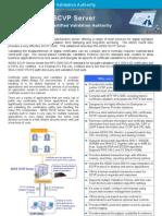 ADSS SCVP Server Datasheet