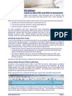 ADSS Server Signing PDF Documents With CDS Certificates