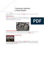 Budaya Asli Indonesia Sebelum Masuknya Hindu_Budha