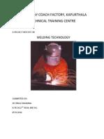 Internship Report on Railway Coach Factory