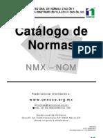 Catalogo de Normas 0611