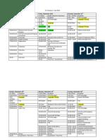 ICT Schedule