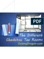 The Different Chashitsu Tea Rooms