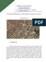 ALENCAR MENDES, R. A. REFLEXÕES ENTRE POBREZA E MEIO AMBIENTE DO BAIRRO CONJ. CEARÁ. SECADI, CEARA. ABRIL 2012