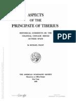 Aspects of the principate of Tiberius