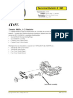 4T65R Erratic Shift,1 2 Shuddle