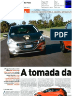 "RENAULT CLIO TCe 90 FRENTE AO PEUGEOT 208 1.2 VTI NA ""AUTO FOCO"""
