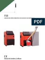 Manual de Utilizare Instalare Si Intretinere Cazan Ferroli Fsb