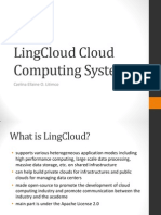 LingCloud Cloud Computing System
