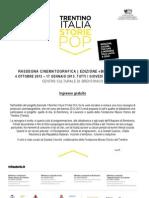 Rassegna cinematografica Brentonico 2012-2013