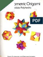 3D Geometric Origami - Modular Polyhedra